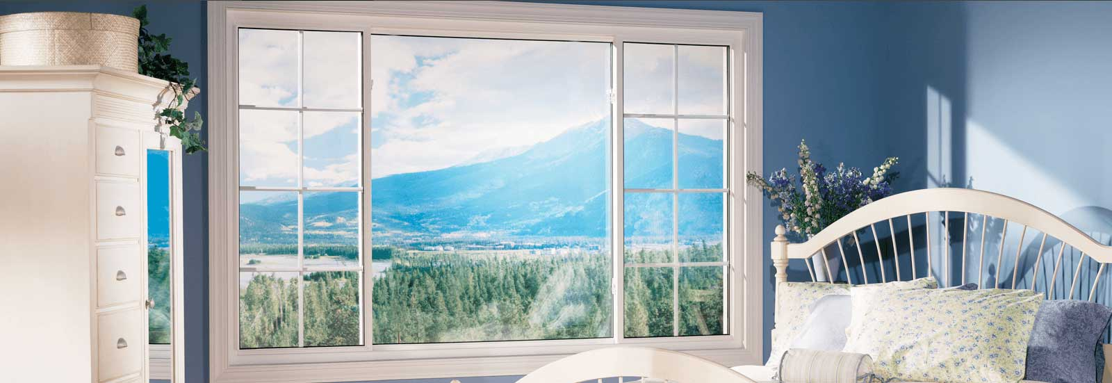 White Sliding Windows